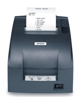 Epson TM-U220 Compact POS impact receipt and kitchen printers Image